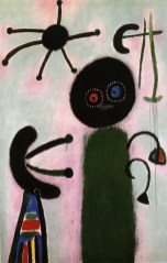 Joan Miró Malerei (Jack in the Box), 1953 Sammlung Nahmad © Successió Miró 2014-Bildrecht, Wien, 2014