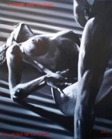Soho Community of fine art, Martin Georg Sonnleitner, L`usage des plaisirs, 2011, 100 x 80 cm , Öl – Leinwand, Realism, [AOS] Magazine
