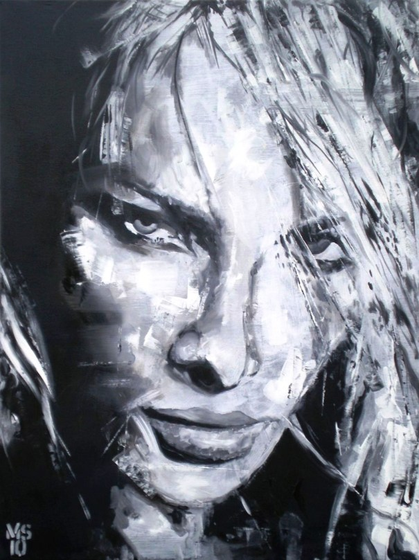 Martin Georg Sonnleitner, Untiteld woman I, 2010, 80 x 60 cm, Öl-Leinwand, Realism 1, [AOS] Magazine