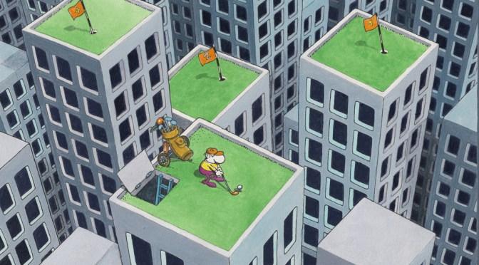 Mordillo liebt den Sport! 100 Originalcartoons im Karikaturmuseum Krems