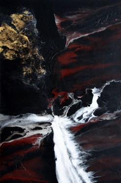 Sascha Weinberg: Terra, 120x80x5cm, Acryl auf Leinwand, Verlaufstechnik, 2014(2)  Art On Screen - [AOS] Magazine