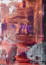 Sascha Weinberg: Fragilitas 2015, 50x70x1,8 cm Mischtechnik | Art On Screen - [AOS] Magazine - NEWS