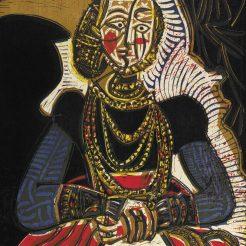 Die Sammlung Baltliner in der Albertina, Pablo Picasso, Frauenbüste