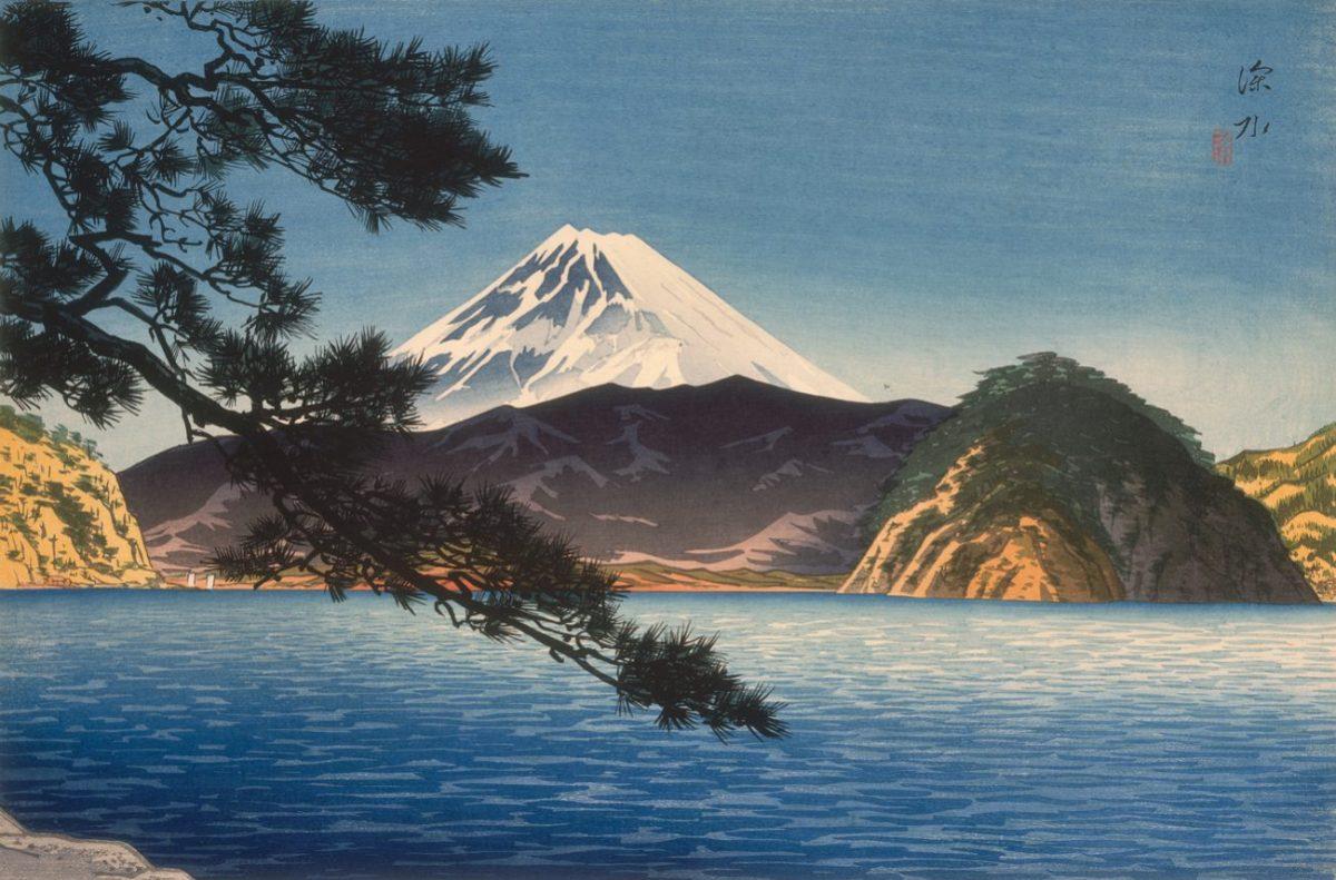 ITO SHINSUI - Maler und Holzschnittkünstler der modernen japanischen Kunst im 20. Jahrh.