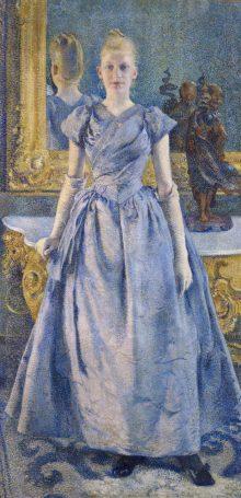 Théo van Rysselberghe - Mademoiselle Alice Sèthe, Georges Seurat, Paul Signac, Vincent Van Gogh, Wege des Pointillismus, Art On Screen - NEWS - [AOS] Magazine