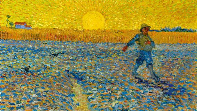 Vincent van Gogh - Der Sämann, Wege des Pointillismus,