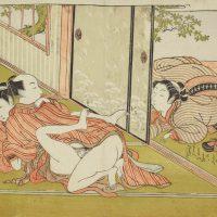 SHUNGA. Erotische Kunst aus Japan - Ich sag`s der Mama...