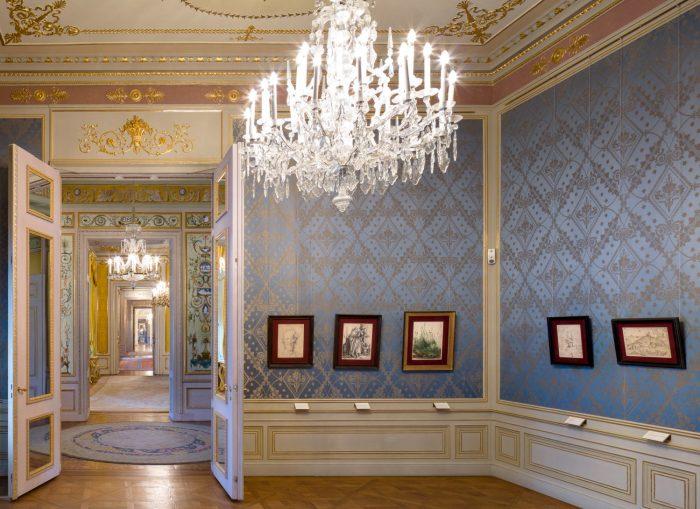 Albertina, palais, Albertina Prunkräume