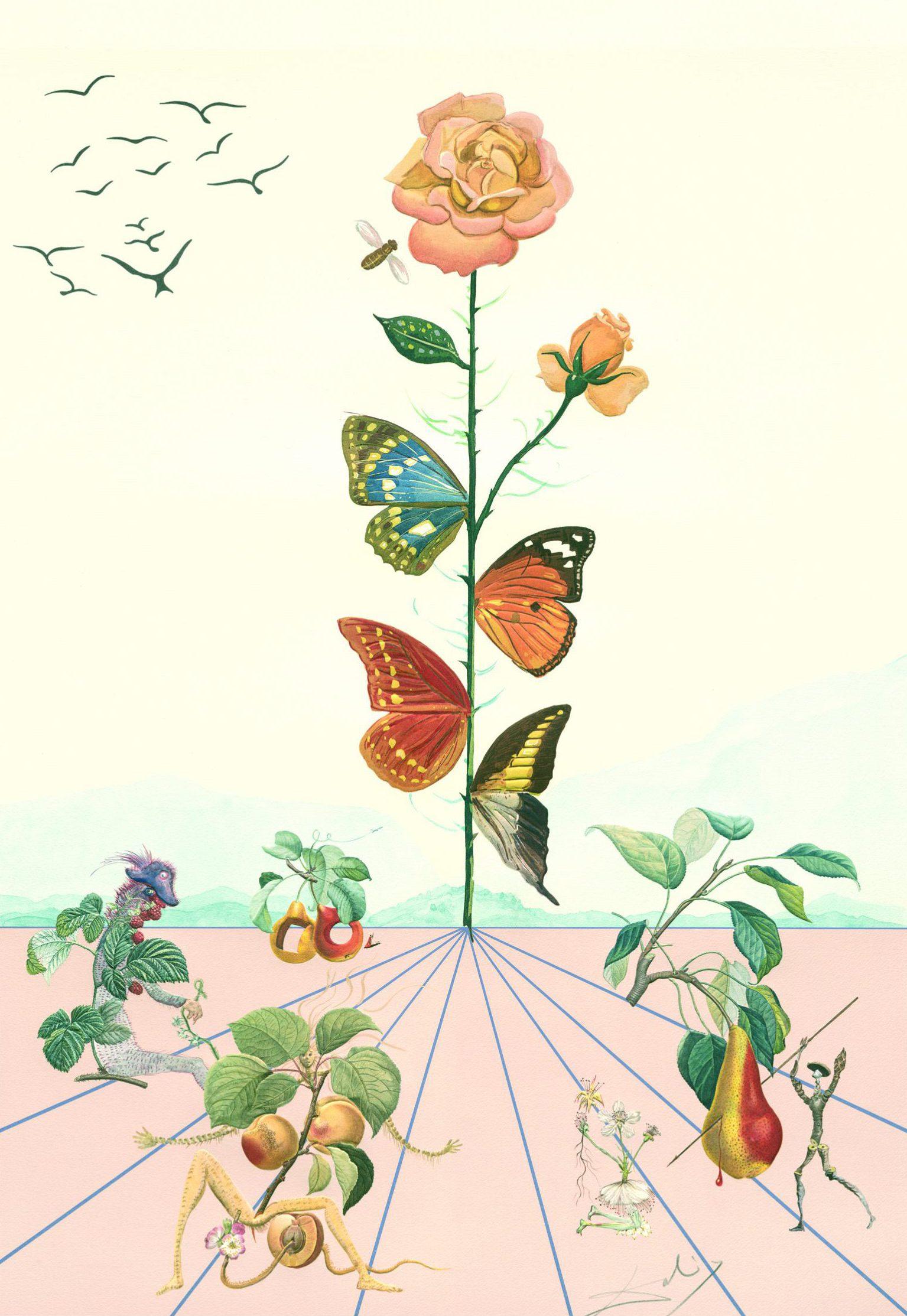 Flordalí II (Flora Dalinea) - Salvador Dalí, Art On Screen - News - [AOS] Magazine