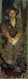 Richard Gerstl, Bildnis der Mathilde Schönberg im Atelier, Richard Gerstl Retrospektive,