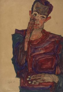 Egon Schiele , Gedenkjahr 2018, Art On Screen - News - [AOS] Magazine