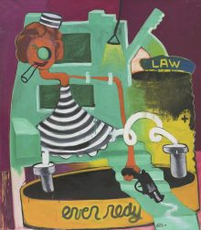 Peter Saul, amerikanischer pop art maler, Peter Sauls Werke