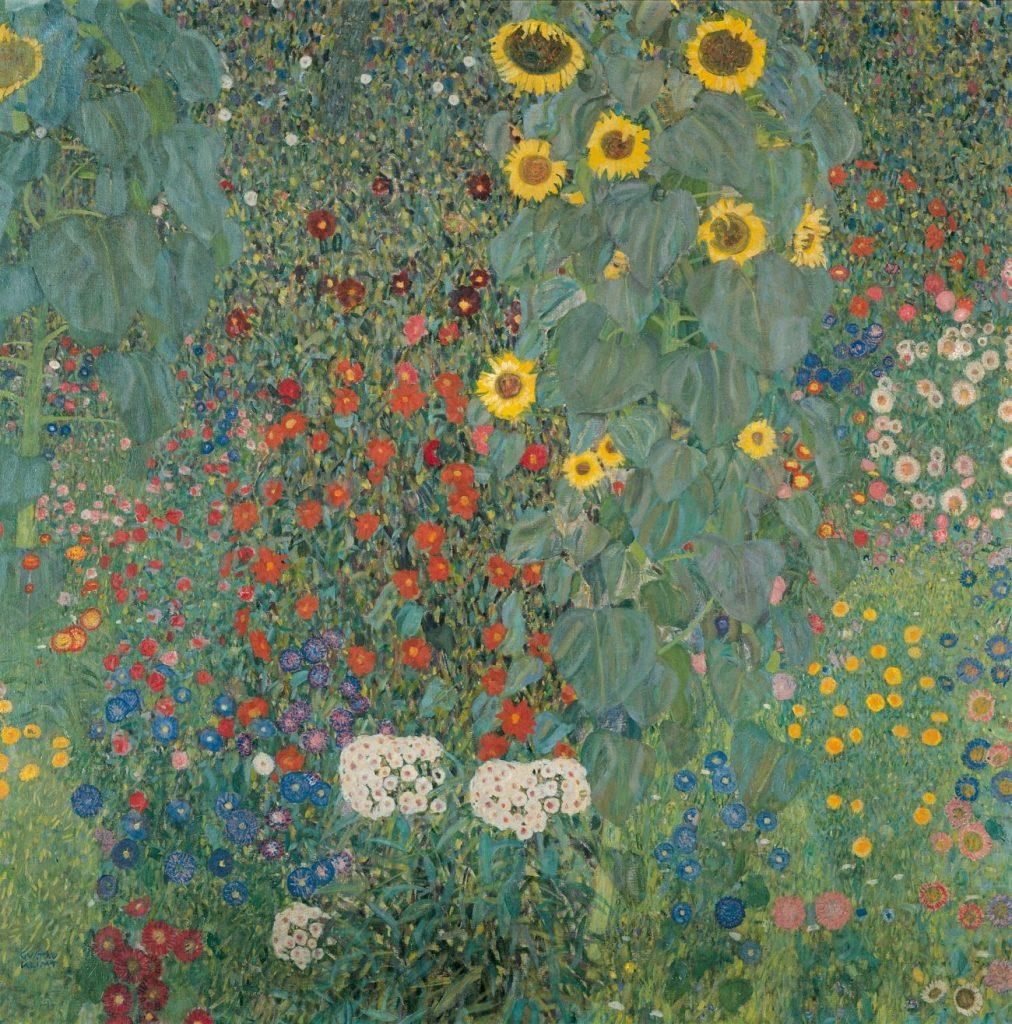 Gustav Klimt, Bauerngarten mit Sonnenblumen, Art On Screen - News - [AOS] Magazine