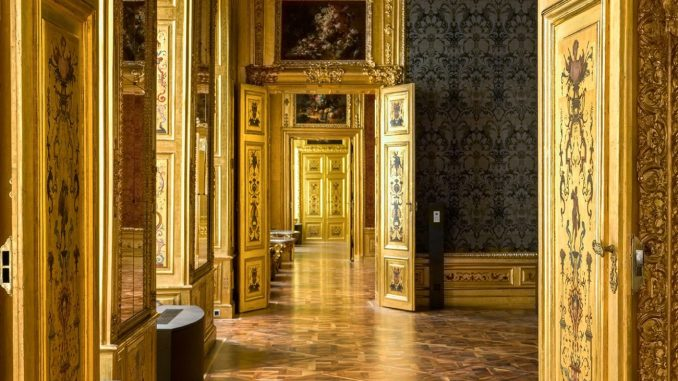 Blick in den Blauen Salon im Winterpalais - Belvedere Museum Wien, Art On Screen - News - [AOS] Magazine