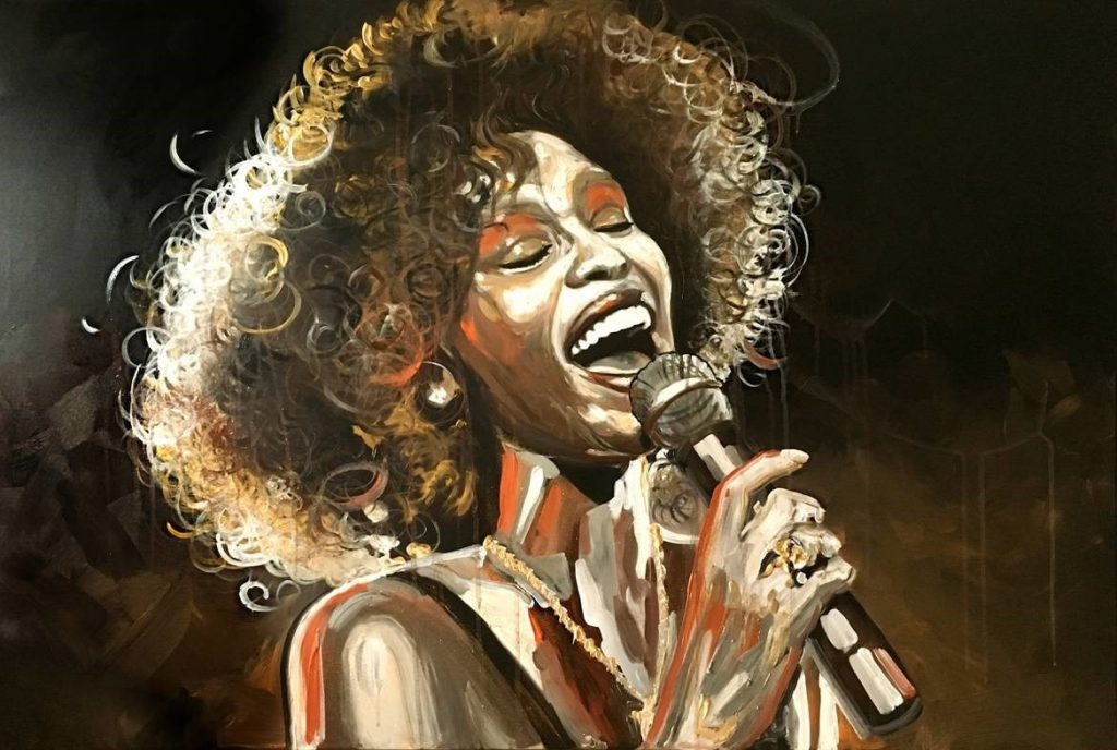 Can I Be Me, Whitney Houston, The Voice, Higher Love