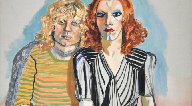 Alice Neel: Jackie Curtis and Rita Red, 1970