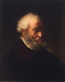 Die Geburt des Kunstmarktes, Govert Flinck, Brustbild eines bärtigen alten Mannes, Ausstellung im Bucerius Kunst Forum