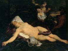 Die Geburt des Kunstmarktes, Gerard de Lairesse, Schlafende Bacchantin, Ausstellung im Bucerius Kunst Forum