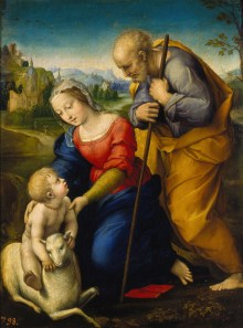 Raffael, Heilige Familie mit dem Lamm, Museo del Prado, Raffaello Santi, Albertina, Raffael in Wien, Art On Screen - NEWS - [AOS] Magazine