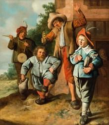 Die Geburt des Kunstmarktes, Jan Miense Molenaer, Jugendliche Musikanten, Ausstellung im Bucerius Kunst Forum