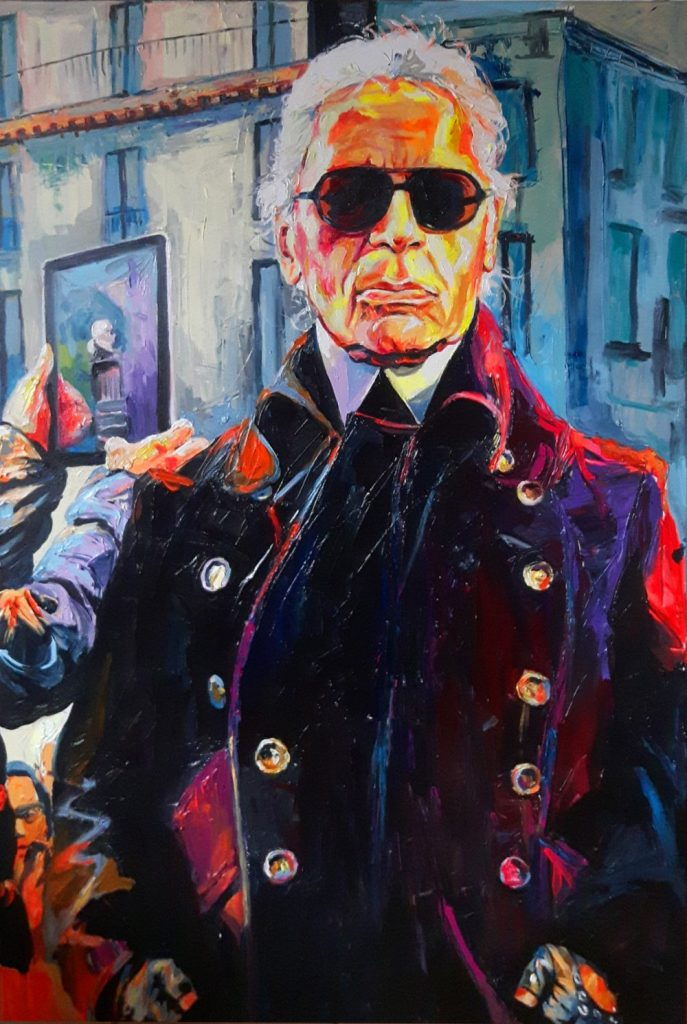 Enke Caecilie Jansson, Monsieur Karl 100x150cm © Enke Caecilie Jansson - Art On Screen - NEWS - [AOS] Magazine