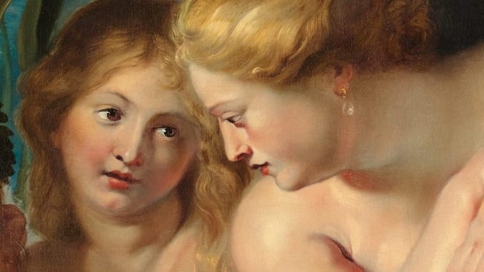 Peter Paul Rubens, Kraft der Verwandlung, Rubens, Die vier Flüsse des Paradises