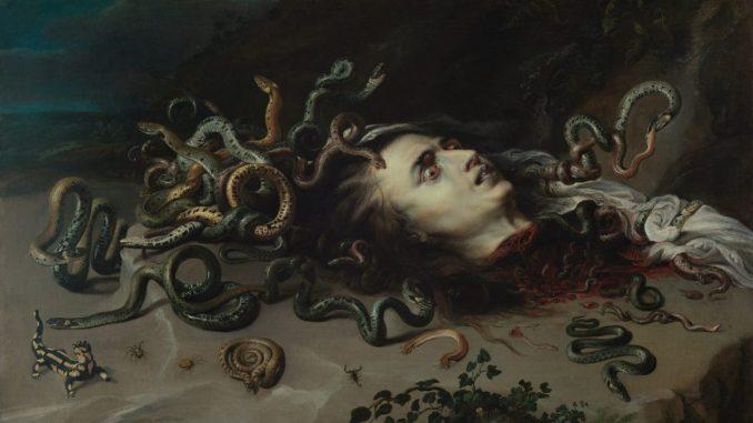 Haupt der Medusa, Peter Paul Rubens, Art On Screen - News - [AOS] Magazine