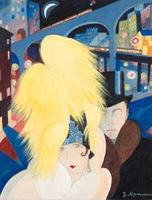Jeanne Mammen, Die Großstadt, Berlinische Galerie, Landesmuseumfür Moderne Kunst, Fotografie und Architektur
