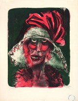 Gurlitt Ausstellung - Das Kunstmuseum Bern, Otto Dix, Leonie, 1923, Farblithografie auf geripptem Papier, Art On Screen - News - [AOS] Magazine