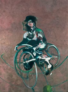 Die Sammlung Beyeler, FRANCIS BACON, PORTRAIT OF GEORGE DYER RIDING A BICYCLE, 1966, Art On Screen - News - [AOS] Magazine