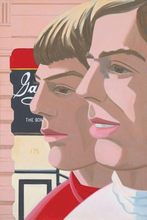 Ausstellung im Museum Frieder Burda,  Alex Katz, Scott and John, 1966, Öl auf Leinwand, Museum Frieder Burda, Art On Screen - News - [AOS] Magazine