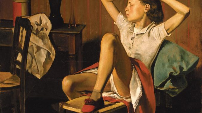 Balthus - Thérèse, träumend, 1938 Art On Screen - NEWS - [AOS] Magazine