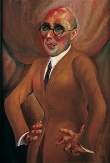 Welt im Umbruch, Kunst der 20er Jahre, Otto Dix, Bildnis des Juweliers Karl Krall, Art On Screen - NEWS - [AOS] Magazine