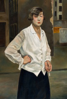 Welt im Umbruch, Kunst der 20er Jahre, Rudolf Schlichter - Margot, | Art On Screen - NEWS - [AOS] Magazine