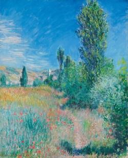 Claude Monet, Landschaft auf der Insel Saint-Martin, Claude Monet Orte, Museum Barberini
