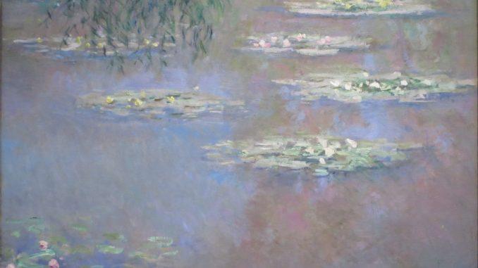 Claude Monet, Seerosen, Claude Monet Orte, Museum Barberini