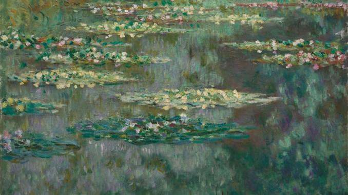 Claude Monet, Seerosen oder der Seerosenteich (Nymphéas), Claude Monet Orte, Museum Barberini