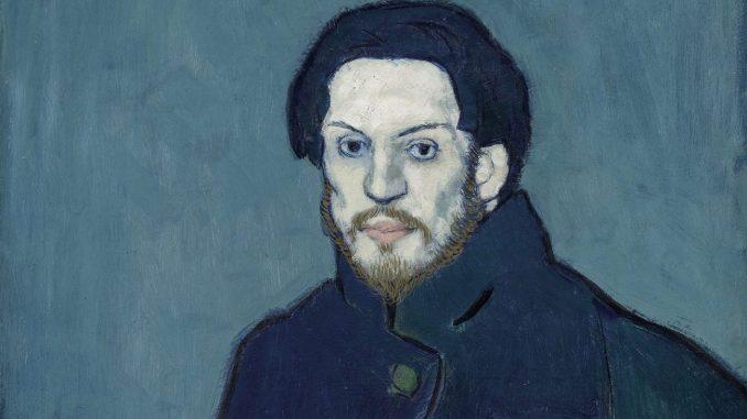 Der junge Pablo Picasso, Blaue und Rosa Periode, PABLO PICASSO, AUTOPORTRAIT, 1901