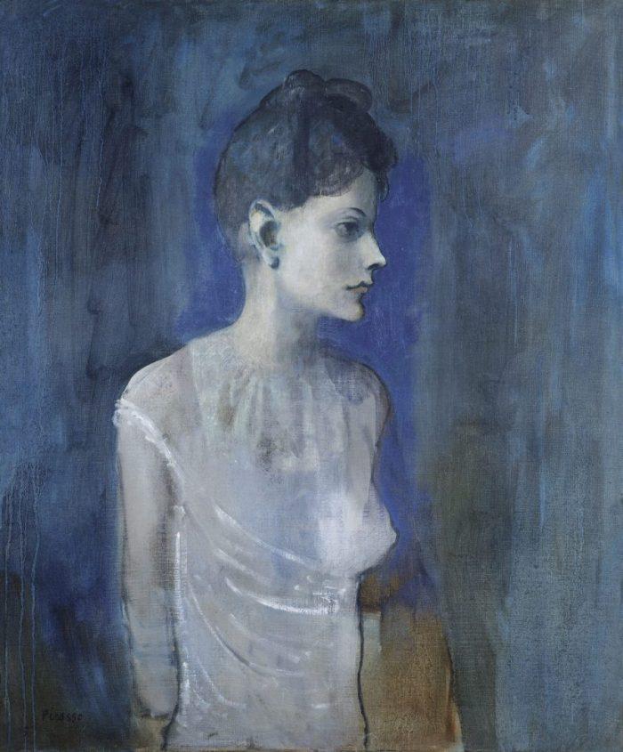 Der junge Picasso, Blaue und Rosa Periode, PABLO PICASSO, FEMME EN CHEMISE (MADELEINE)