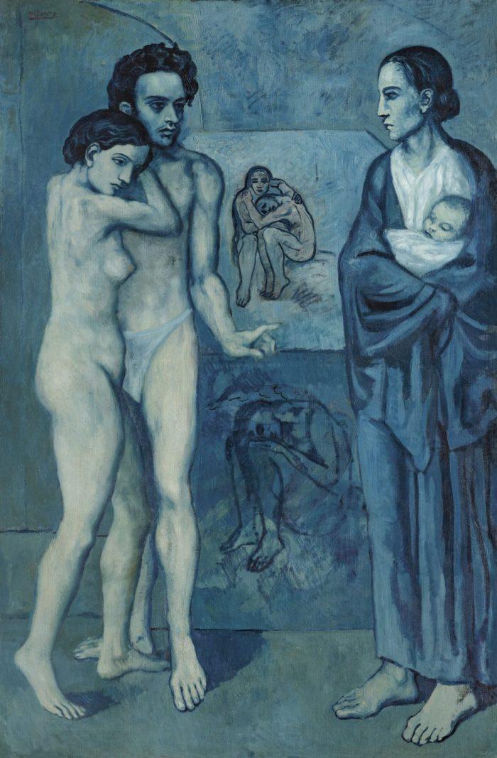 Der junge Pablo Picasso, Blaue und Rosa Periode, PABLO PICASSO, LA VIE (Das Leben)