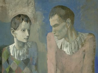 Der junge Pablo Picasso, PABLO PICASSO, ACROBATE ET JEUNE ARLEQUIN, 1905