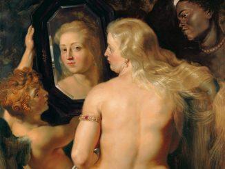 Peter Paul Rubens, Venus vor dem Spiegel, Ausstellung Von Rubens bis Makart, Die Fürstlichen Sammlungen Liechtenstein, Albertina Wien