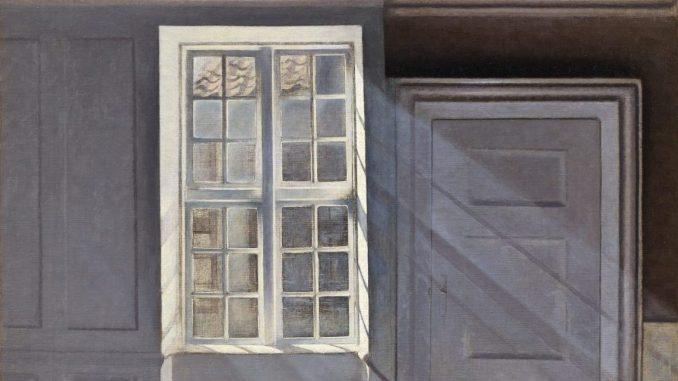 Sonnenstrahlen oder Sonnenlicht, Im Licht des Nordens, Dänische Malerei, Sammlung Ordrupgaard, Ausstellung in Hamburg, Hamburger Kunsthalle, VILHELM HAMMERSHØI