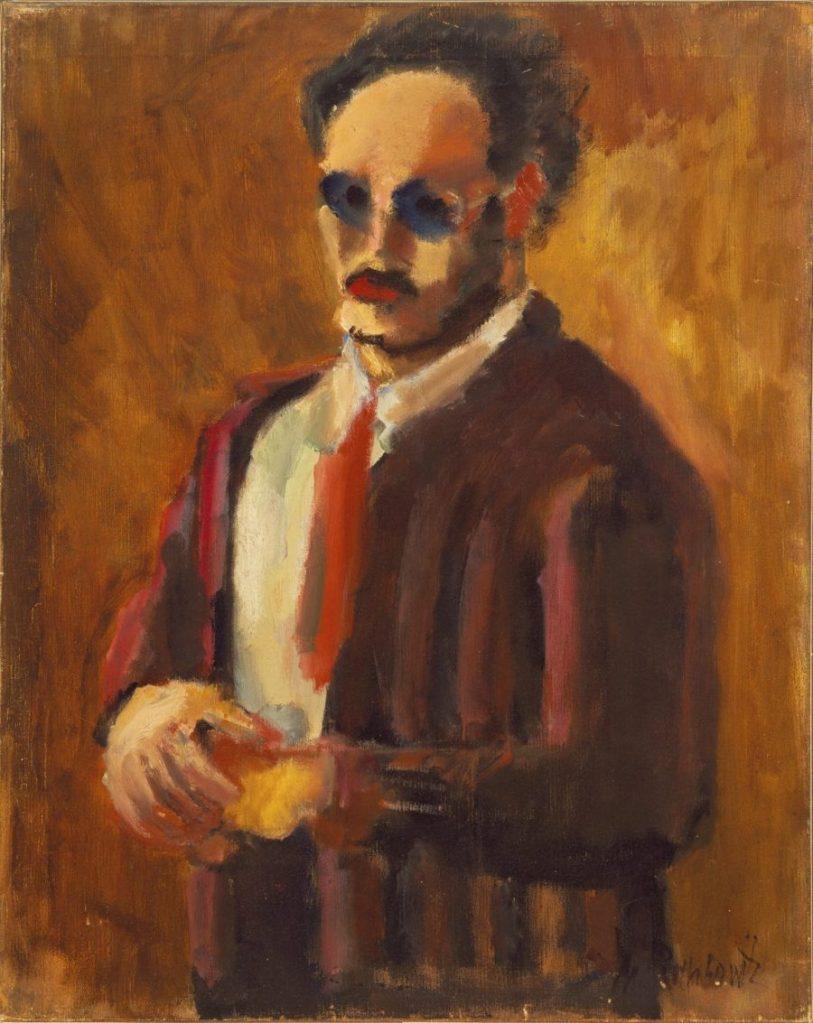 Mark Rothko Self-Portrait, Mark Rothko Ausstellung, Mark Rothko Bilder, Rothko Ausstellung in Wien, Rothko Retrospektive im KHM, Kunsthistorisches Museum