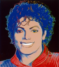 Andy Warhol, Michael Jackson, On the Wall, King of Pop, The Andy, Warhol Museum, National Portrait Gallery, Bundeskunsthalle Bonn,
