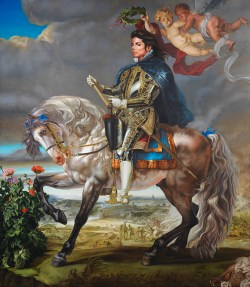Equestrian Portrait of King Philip, Michael Jackson, On the Wall, King of Pop, National Portrait Gallery, London, Bundeskunsthalle Bonn,