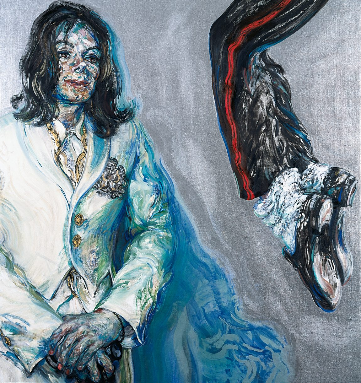 Michael Jackson, On the Wall, King of Pop, National Portrait Gallery, London, Bundeskunsthalle Bonn,