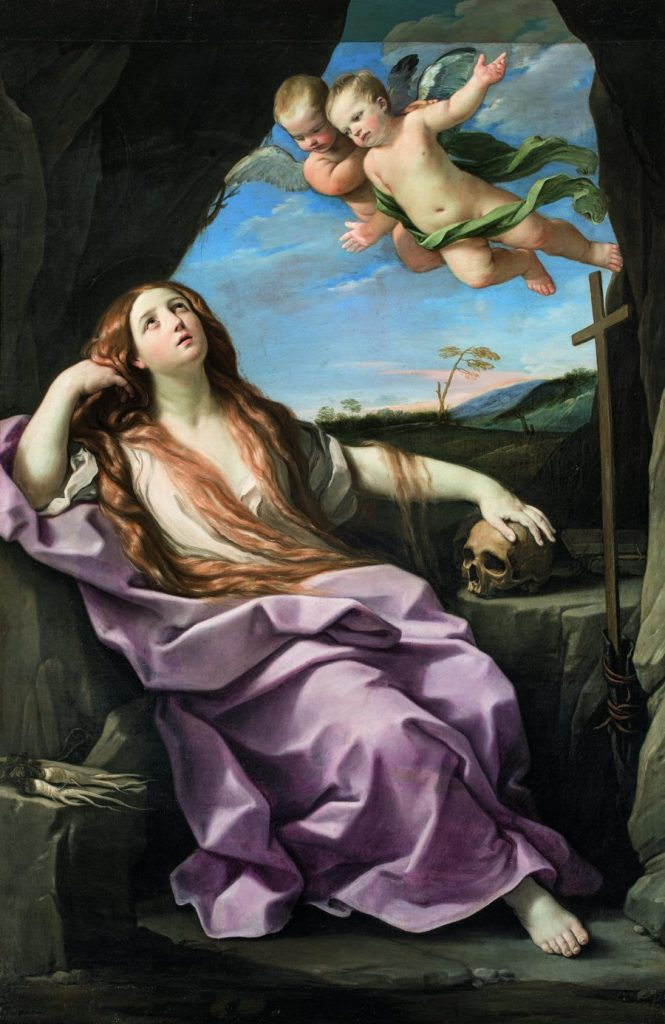 Guido Reni, Büßende Maria Magdalena, Wege des Barock, Die Nationalgalerien Barberini Corsini in Rom, Ausstellung Wege des Barock,