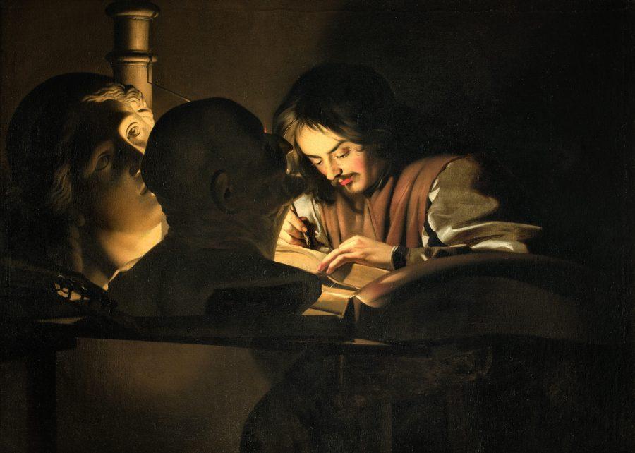 Michael Sweerts, Der Künstler bei der Arbeit, Wege des Barock, Die Nationalgalerien Barberini Corsini in Rom, Ausstellung Wege des Barock,