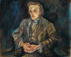 OSKAR KOKOSCHKA - Adolf Loos,
